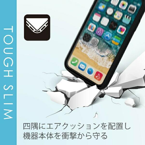エレコムELECOMiPhone116.1インチ対応TOUGHSLIMLITEフレームカラーリング付ブラックPM-A19CTSLFCRBK