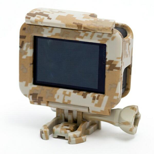 エツミETSUMIE2214GoPro用アクションプロテクターカバーサンド
