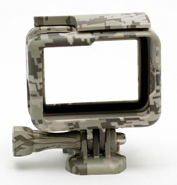 エツミETSUMIE2215GoPro用アクションプロテクターカバーグレー
