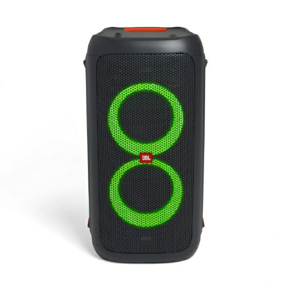 JBLジェイビーエルブルートゥーススピーカーJBLPARTYBOX100JNブラック[Bluetooth対応][JBLPARTYBOX100JN]