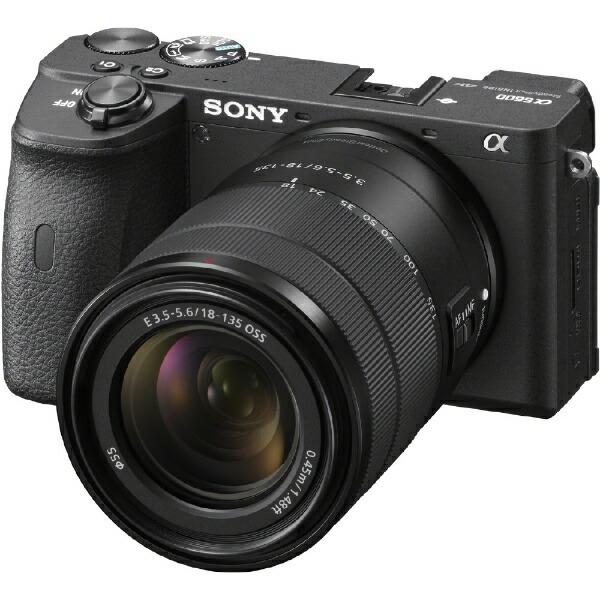 ソニーSONYILCE-6600Mミラーレス一眼カメラα6600高倍率ズームレンズキットブラック[ズームレンズ][ILCE6600M]