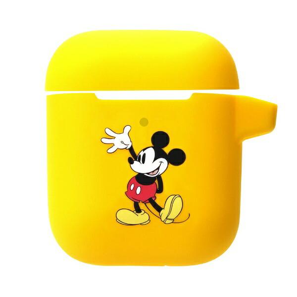 PGAAirPods充電ケース用シリコンカバーミッキーマウス株式会社PGAミッキーマウスPG-DAPC01MKY