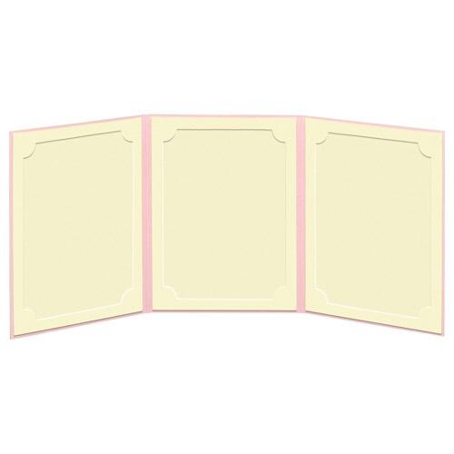 ハクバHAKUBAランスドゥ3面2L縦(タテ)ピンクMRCDO-2LT3PK[タテ/2Lサイズ・キャビネサイズ/3面]