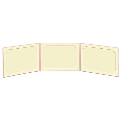 ハクバHAKUBAランスドゥ3面2L横(ヨコ)ピンクMRCDO-2LY3PK[ヨコ/2Lサイズ・キャビネサイズ/3面]