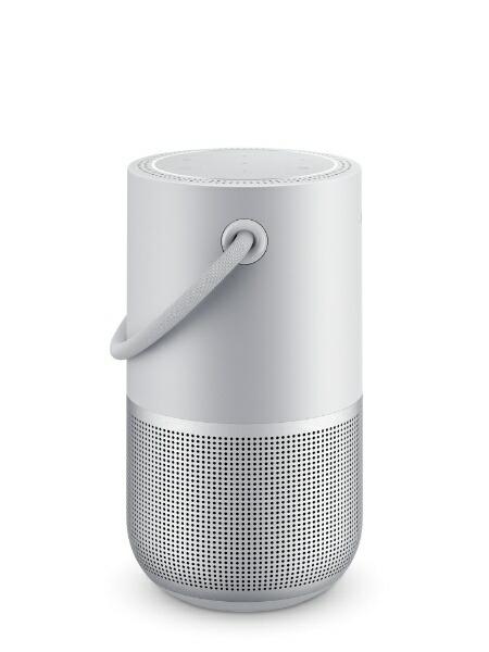 BOSEボーズスマートスピーカーBosePortableHomeSpeakerLuxeSilverBoseLuxeSilver[Bluetooth対応/Wi-Fi対応/防滴][ボーズスマートスピーカーシルバー]