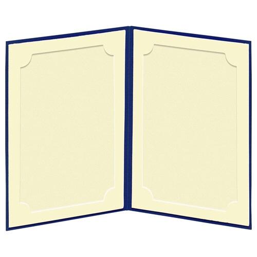 ハクバHAKUBAランスドゥポストカード(KG)縦(タテ)ネイビーMRCDO-PCT2NV[タテ/KG・ポストカードサイズ/2面]