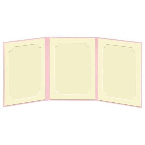 ハクバHAKUBAランスドゥ3面L縦(タテ)ピンクMRCDO-LT3PK[タテ/E・Lサイズ/3面]