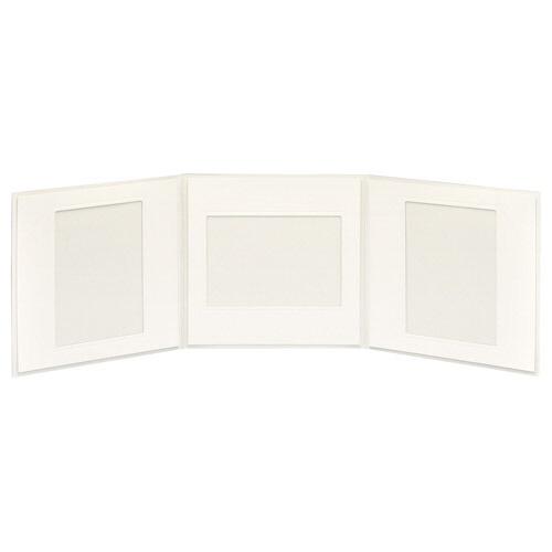 ハクバHAKUBAペーパースクウェア台紙No.17702L3面クリームM1770-2L-3CR[タテヨコ兼用/2Lサイズ・キャビネサイズ/3面]