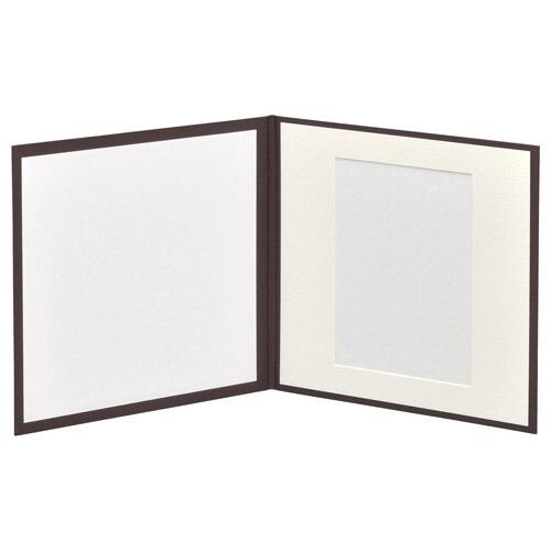 ハクバHAKUBAスクウェア台紙No.20202L1面ブラウンM2020-2L-1BR[タテヨコ兼用/2Lサイズ・キャビネサイズ/1面]