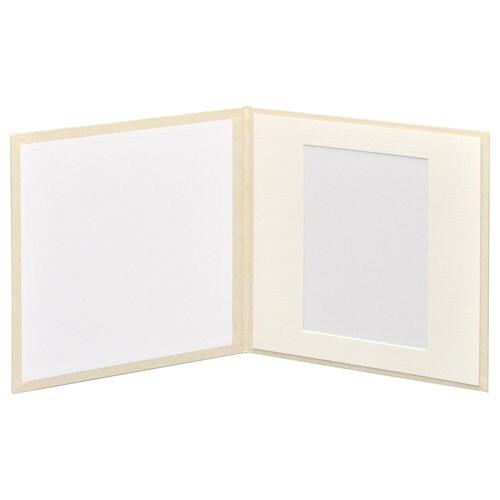 ハクバHAKUBAスクウェア台紙No.20202L1面ホワイトM2020-2L-1WT[タテヨコ兼用/2Lサイズ・キャビネサイズ/1面]