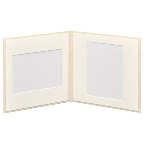 ハクバHAKUBAスクウェア台紙No.20202L2面ホワイトM2020-2L-2WT[タテヨコ兼用/2Lサイズ・キャビネサイズ/2面]