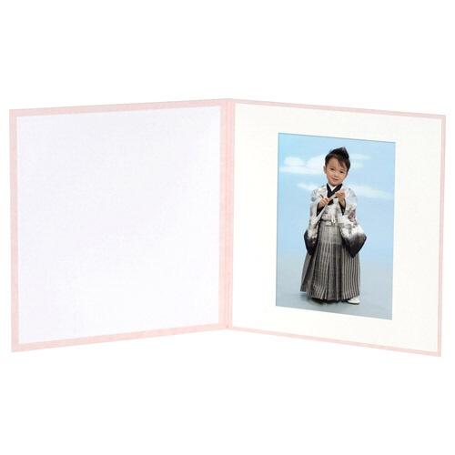 ハクバHAKUBAスクウェア台紙No.20206切1面ピンクM2020-6-1PK[タテヨコ兼用/六切サイズ/1面]