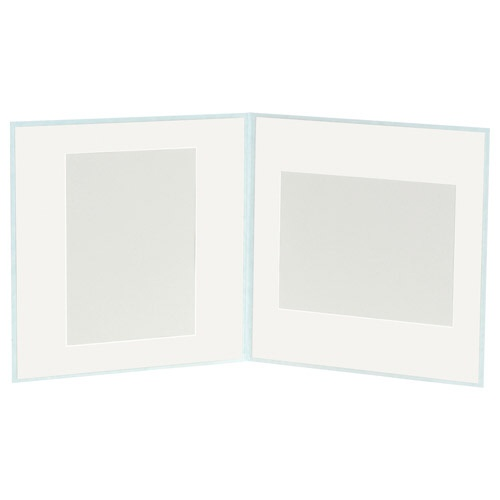 ハクバHAKUBAスクウェア台紙No.20206切2面アクアM2020-6-2AQ[タテヨコ兼用/六切サイズ/2面]