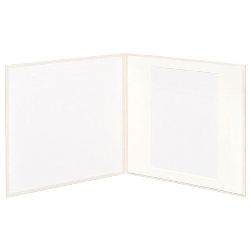 ハクバHAKUBAスクウェア台紙No.2020A41面ホワイトM2020-A4-1WT[タテヨコ兼用/A4サイズ/1面]