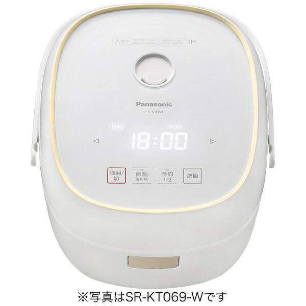 パナソニックPanasonicSR-KT069-W炊飯器ホワイト[3.5合/IH][SRKT069W]