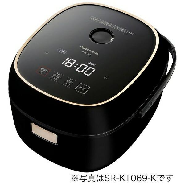 パナソニックPanasonicSR-KT069-K炊飯器ブラック[3.5合/IH][SRKT069K]