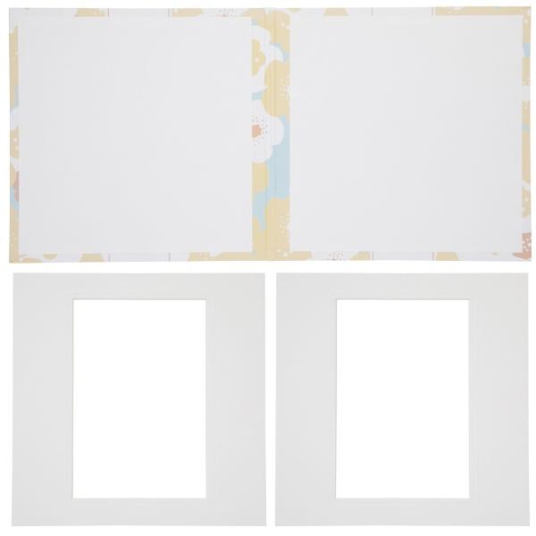 チクマChikuma寿写真台紙V-700(寿)6切2面イエロー15545-4イエロー[タテヨコ兼用/六切サイズ/2面]