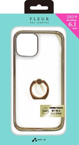 エアージェイair-JiPhone116.1インチスマホリング付メタルカラーフレームGDACP19MMRGD