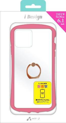 エアージェイair-JiPhone116.1インチスマホリング付カラーフレームPKACP19MKZRPK