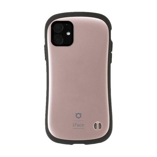 HAMEEハミィiPhone116.1インチiFaceFirstClassMetallicケース41-911518ローズゴールド
