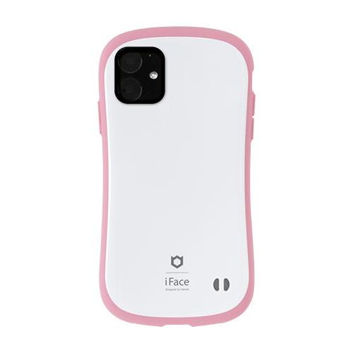 HAMEEハミィiPhone116.1インチiFaceFirstClassPastelケース41-911525ホワイト/ピンク
