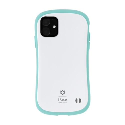 HAMEEハミィiPhone116.1インチiFaceFirstClassPastelケース41-911532ホワイト/ミント