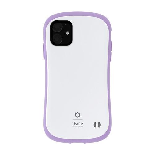 HAMEEハミィiPhone116.1インチiFaceFirstClassPastelケース41-911549ホワイト/パープル
