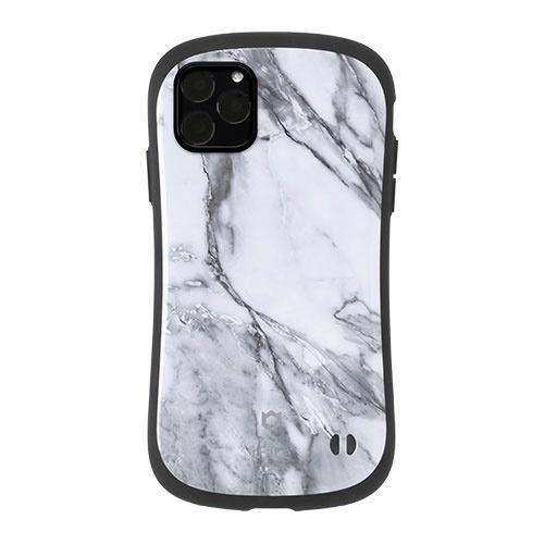 HAMEEハミィiPhone11ProMax6.5インチiFaceFirstClassMarbleケース41-912263ホワイト