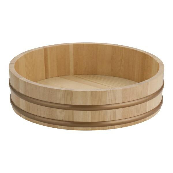 ヤマコーYAMACO天然木盛込桶(樹脂タガ仕様)尺130008<NMLB503>[NMLB503]