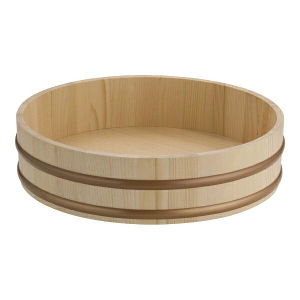 ヤマコーYAMACO天然木盛込桶(樹脂タガ仕様)尺330010<NMLB505>[NMLB505]