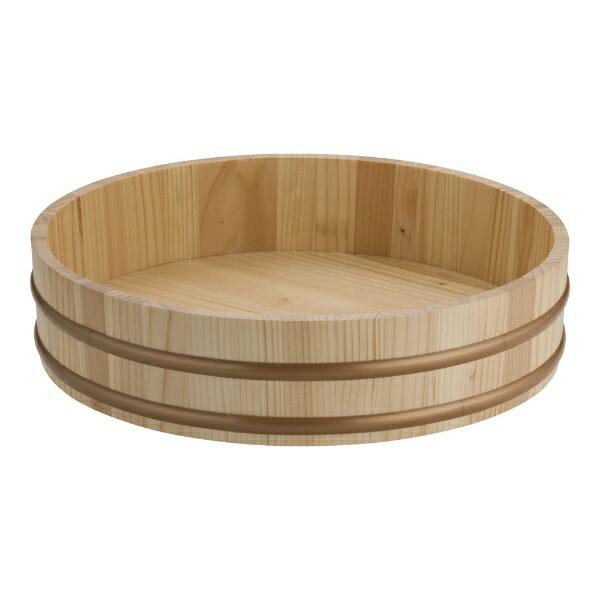 ヤマコーYAMACO天然木盛込桶(樹脂タガ仕様)尺430011<NMLB506>[NMLB506]