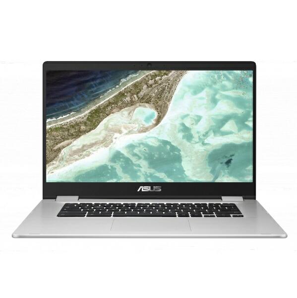 ASUSエイスースChromebook(クロームブック)ノートパソコンシルバーC523NA-EJ0130[15.6型/intelCeleron/eMMC:64GB/メモリ:8GB/2019年9月モデル][15.6インチ新品][C523NAEJ0130]