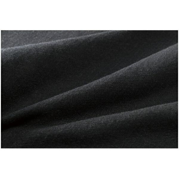 ミズノmizunoレディースブレスサーモBREATHTHERMOアンダーウエアプラスラウンドネック長袖シャツ(Lサイズ/ブラック)C2JA9841