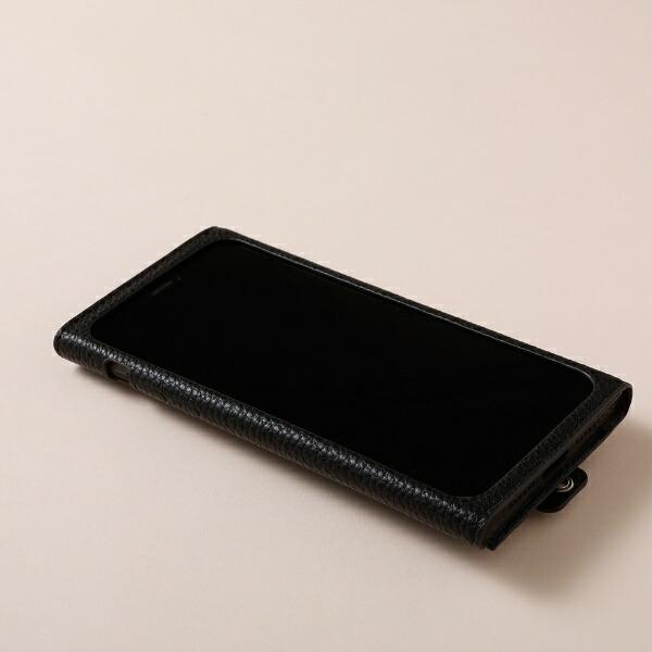 DEFFディーフiPhone11ProMax6.5インチ用高級PUレザーケース<Clings>ブラックDCS-IPC19LPUBK