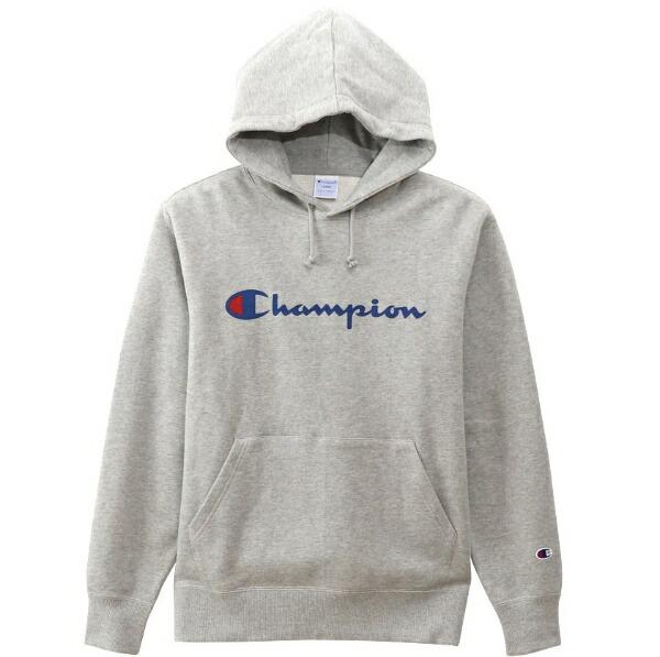 チャンピオンCHAMPIONメンズプルオーバースウェットパーカー(Lサイズ/オックスフォードグレー)C3-Q102