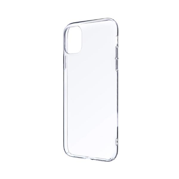 MSソリューションズiPhone116.1インチCLEARHARDハードケースクリアLP-IM19CHDCL