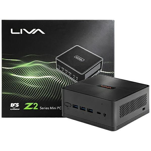 ECSイーシーエスLIVAZ2-4/64-W10(N4100)Sデスクトップパソコン[モニター無し/eMMC:64GB/メモリ:4GB/2019年9月モデル][LIVAZ2464W10N4100S]
