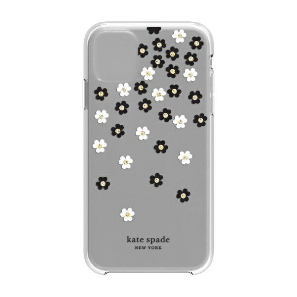 ケイト・スペードニューヨークkatespadenewyorkiPhone116.1インチHardshellSCATTEREDFLOWERSBK/WH/GG/CLKSIPH-131-SFLBW