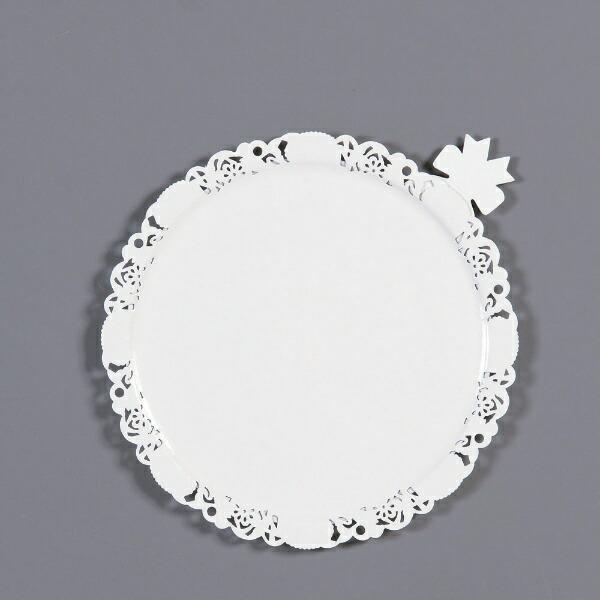 中澤函NAKAZAWAHACOデコラプレートエンジェルφ185mm(25枚入)ホワイト<NDK2403>[NDK2403]