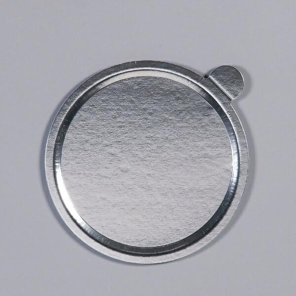 中澤函NAKAZAWAHACOデコラプレートカルトンロンドφ185mm(25枚入)Jシルバー<NDK2602>[NDK2602]