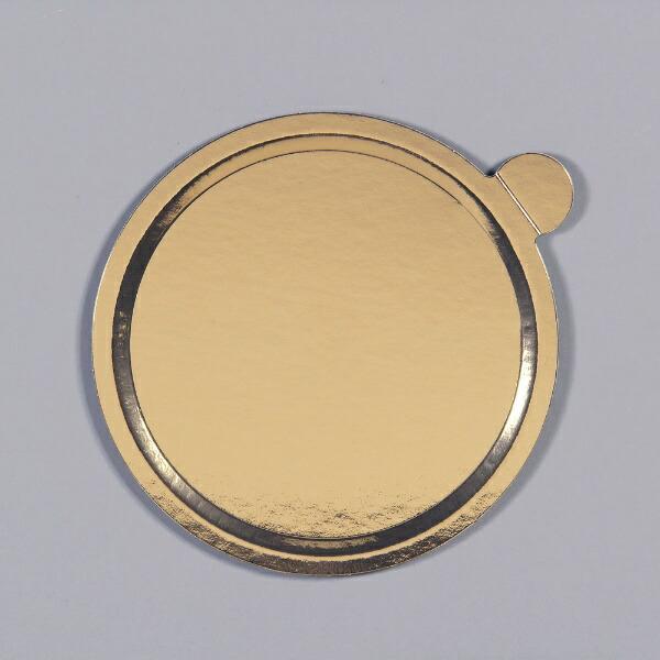 中澤函NAKAZAWAHACOデコラプレートカルトンロンドφ224mm(25枚入)Jゴールド<NDK2604>[NDK2604]