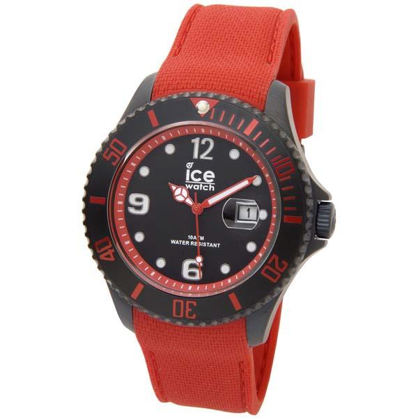アイスウォッチICE-WATCHアイスウォッチICEWATCHアイススティールラージ48mmレッド赤ICE015782[並行輸入品]