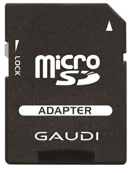 GAUDIガウディmicroSDXCカードCRGMSDXCU1A64G[64GB/Class10][CRGMSDXCU1A64G]