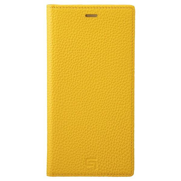 坂本ラヂヲShrunken-calfLeatherBookforiPhone11ProMax6.5インチYLWGBCSC-IP03YLW