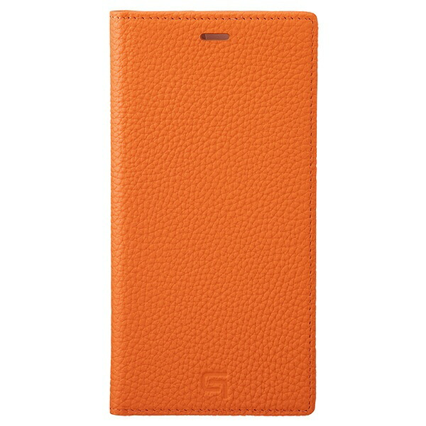 坂本ラヂヲShrunken-calfLeatherBookforiPhone11ProMax6.5インチORGGBCSC-IP03ORG