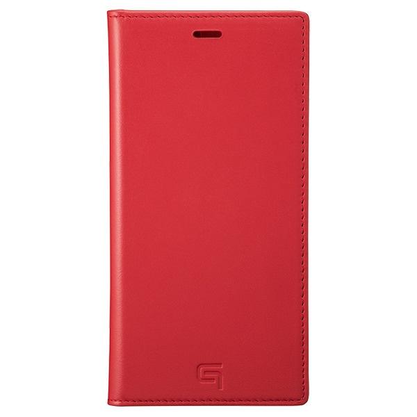 坂本ラヂヲGenuineLeatherBookCaseforiPhone11ProMax6.5インチREDGBCIG-IP03RED