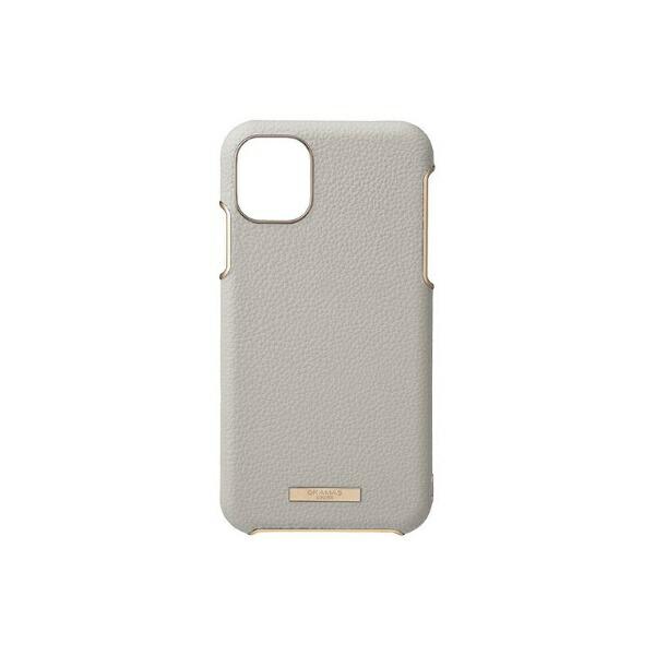 坂本ラヂヲShrinkPULeatherShellCaseforiPhone11ProMax6.5インチGRGCSCLS-IP03GRG