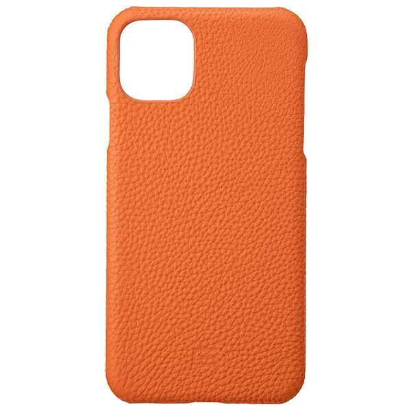 坂本ラヂヲShrunken-calfLeatherShellforiPhone11ProMax6.5インチORGGSCSC-IP03ORG