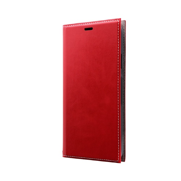 MSソリューションズiPhone11ProMax6.5インチPRIME手帳型ケースレッドLP-IL19PRIRD
