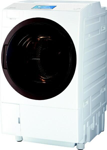 東芝TOSHIBATW-127X8L-Wドラム式洗濯乾燥機ZABOON(ザブーン)グランホワイト[洗濯12.0kg/乾燥7.0kg/ヒートポンプ乾燥/左開き][洗濯機12kgTW127X8LW]